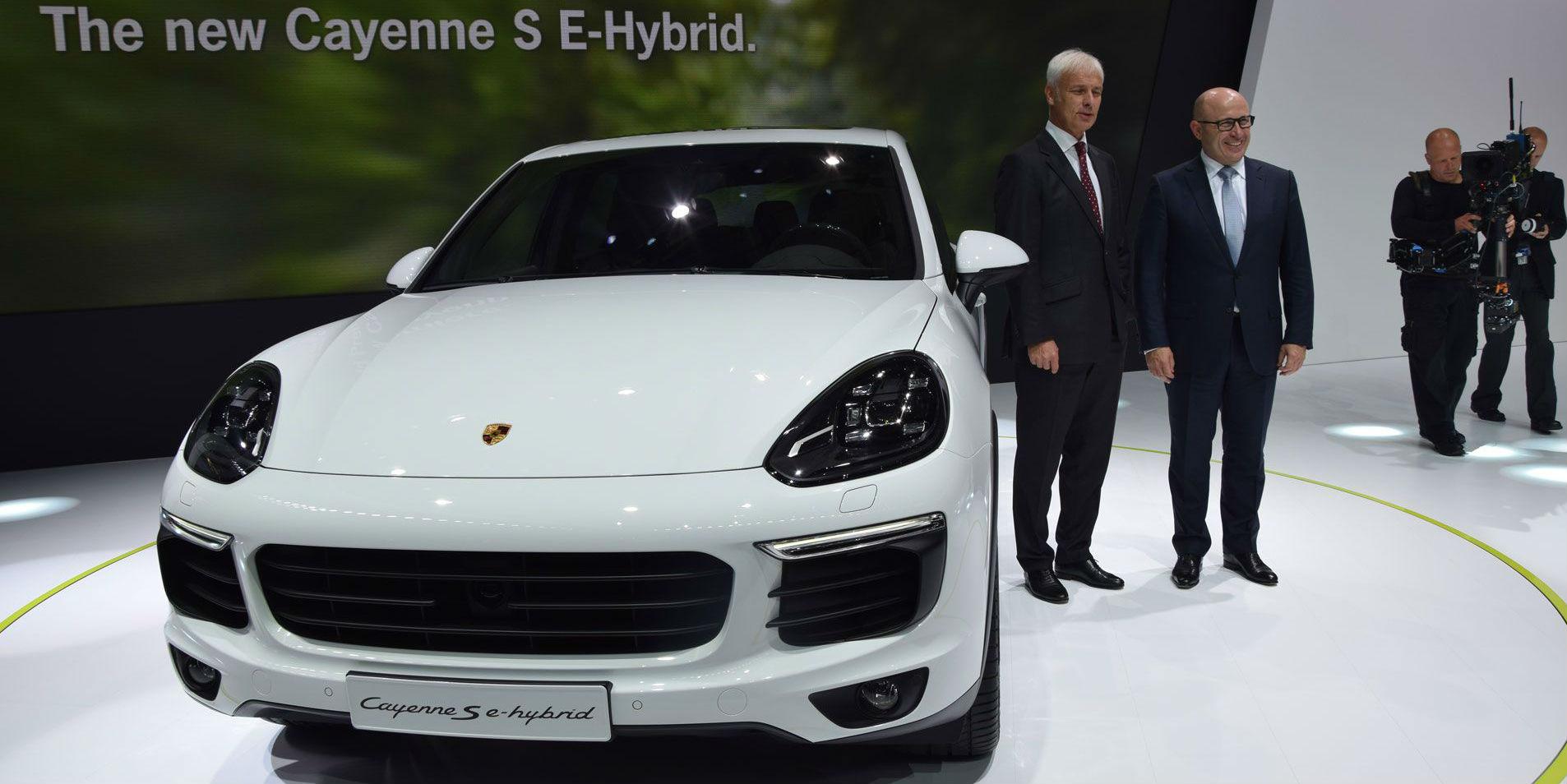 2015 Porsche Cayenne S E Hybrid