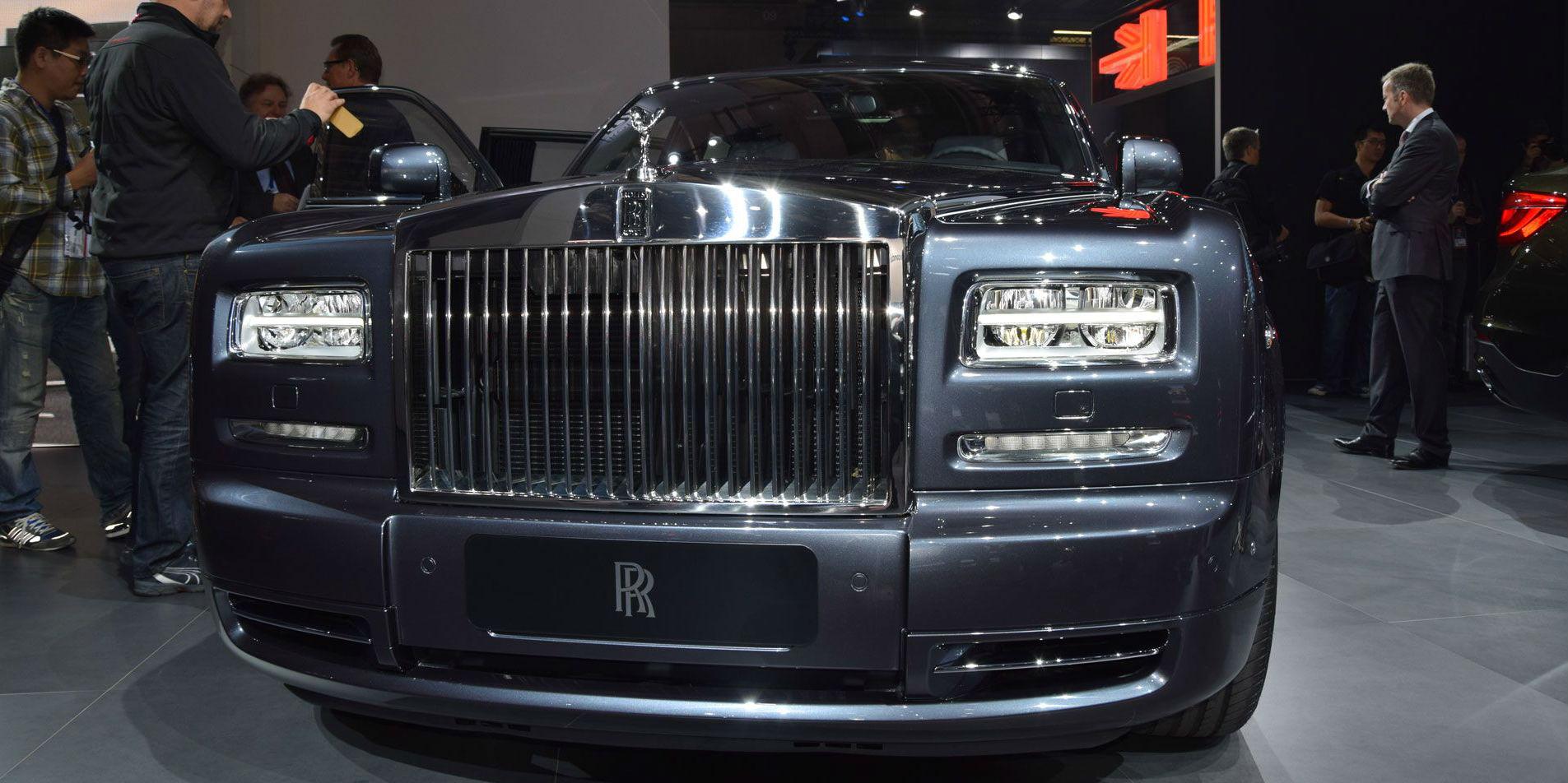 Rolls Royce Metropolitan 2014 Paris Motor Show cover