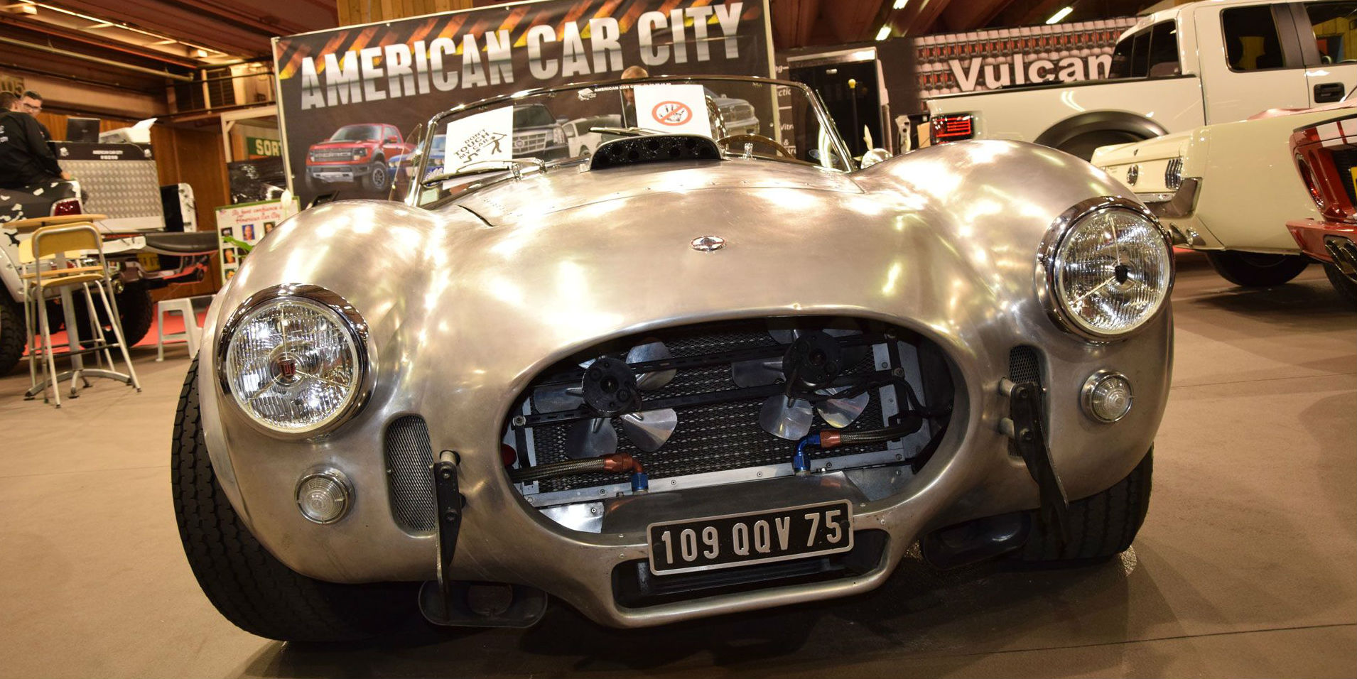 Shelby Cobra 2014 Paris Motor Show COVER