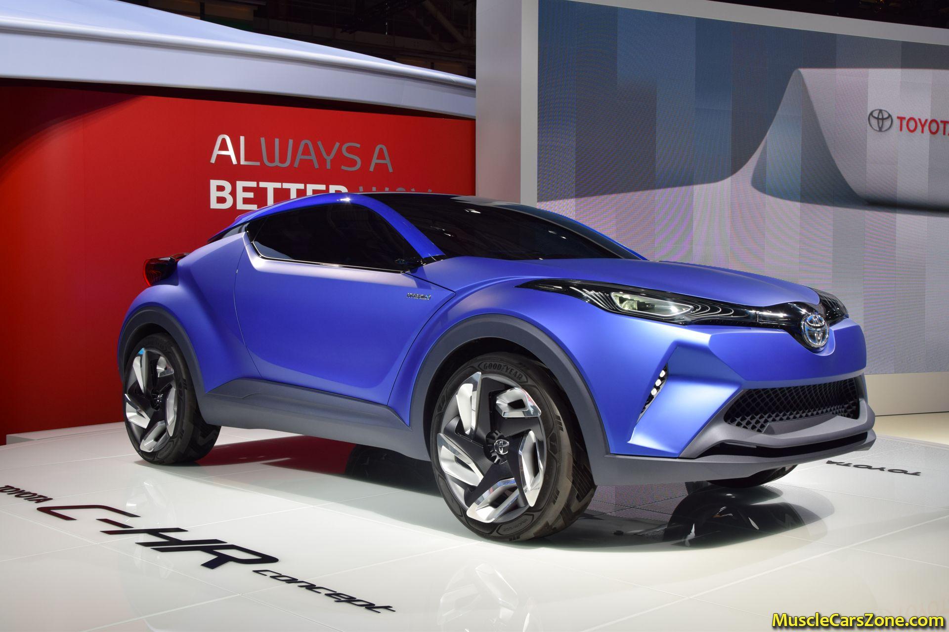 Toyota C-HR Concept 2014 Paris Motor Show 8 - Muscle Cars Zone!
