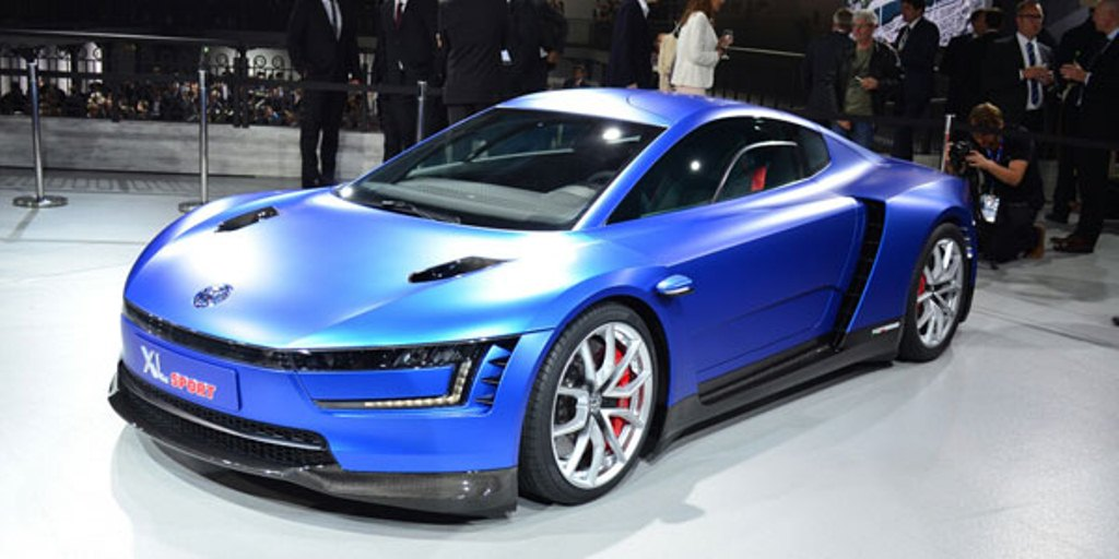 VW-XL-Sport paris motor show 2014