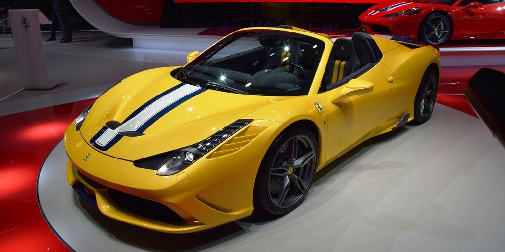 2015 Ferrari 458 Speciale A - Paris Motor Show 2014 c
