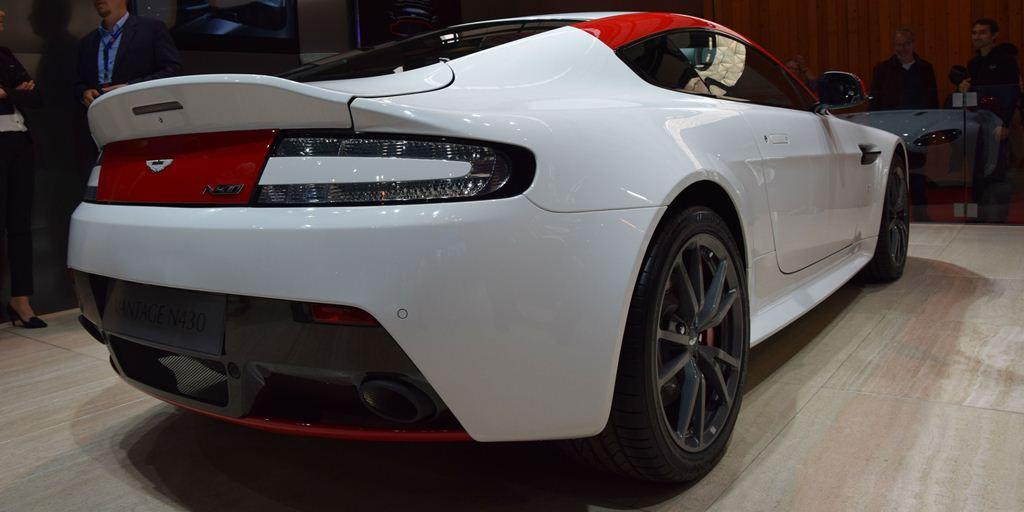 Aston Martin Vantage N430 Paris Motor Show 2014 cover