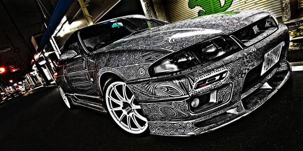 doodled GTR