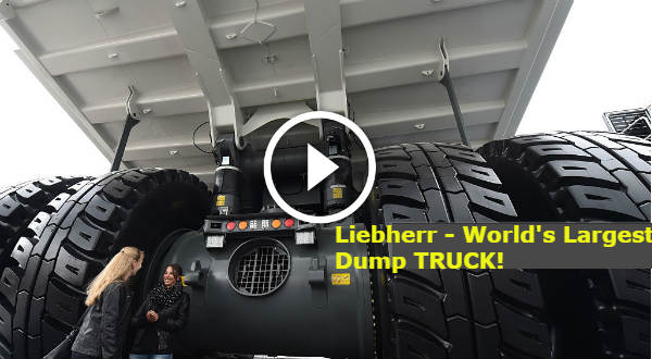 Rc Race Cars >> LARGEST Dump Truck in the World: Liebherr T-284! Can You ...
