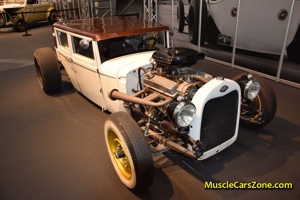 0046 Custom White And Brown Opel Hot Rod Road Devils 02 - Muscle ...