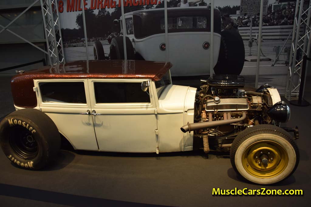 0046 Custom White And Brown Opel Hot Rod Road Devils 03 - Muscle ...