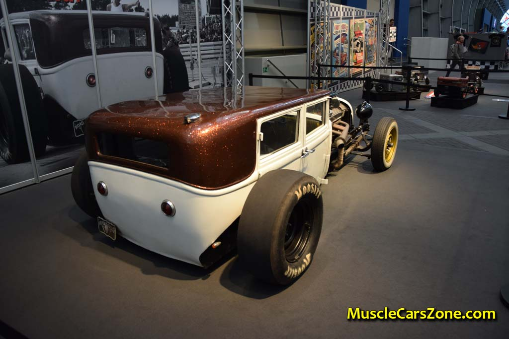 0046 Custom White And Brown Opel Hot Rod Road Devils 04 - Muscle ...