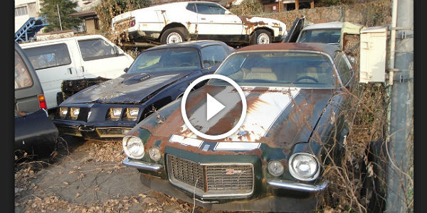 Eleven Abandoned Classic Cars In Japan Mustangs Camaros Corvettes