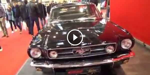 1966 Ford Mustang at 2014 Essen Motor Show