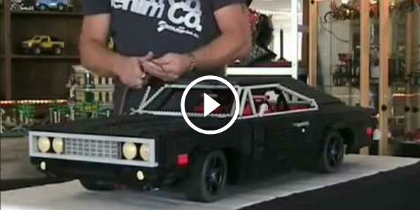 Is This 1970 Dodge Charger The Best Lego Muscle Car