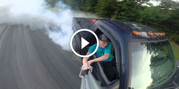 7.3 Powerstroke BURNOUT Performance!