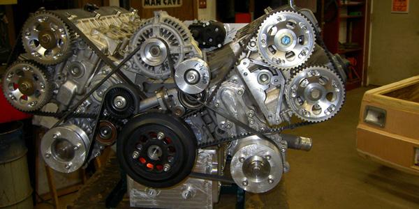 A Quad Turbo V12 engine 1