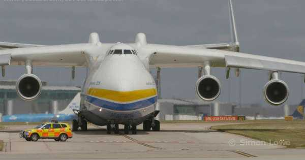 ANTONOV 225 Biggest Plane In The World bigger than Airbus A380 1