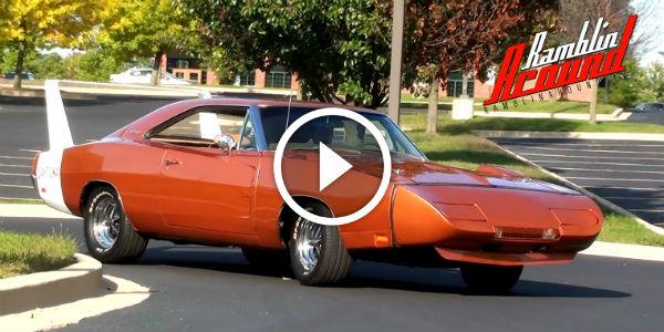 Original DAYTONA All Original 1969 Dodge Charger DAYTONA