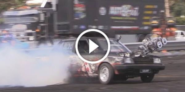 Awesome Drifting Burnout Ends Up Desperately The Blower Just