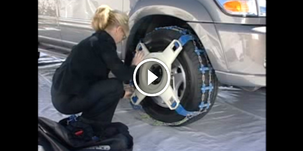 Snow Chains For Tires >> Check The EASIEST STEP TO INSTALL Snow Traction Devices!