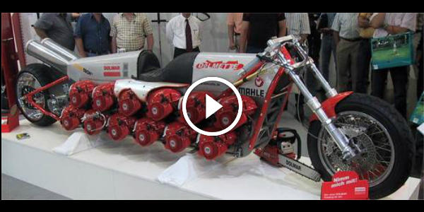 Unique Bike Powered up by 24