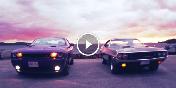 Dodge Challenger In The Heart Now Then Story Journey From