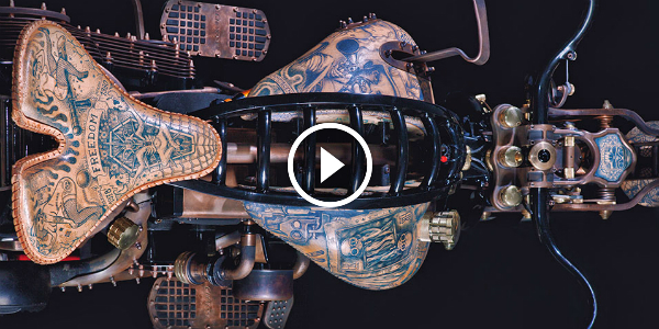 Get a TATTOO for your Motorcycle! The World's FIRST One is Already Here! Great Work!!