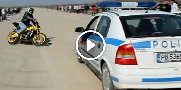 Is This The COOLEST Police Patrol EVER Check Out Their Reaction - Cool cars doing burnouts