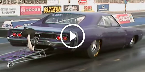Is This The Fastest 1968 Dodge Charger R T Ever 7 Second Purple Beast Check Those Wheelie Bars Muscle Cars Zone