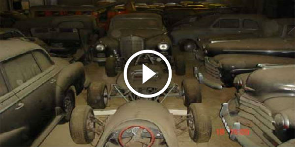MASSIVE Barn Find Portugal of Very Rare Cars