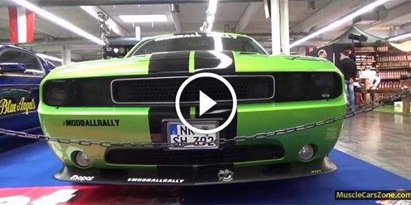 2014 Essen Motor Show ModballRally-Dodge-Challenger-SRT8-1