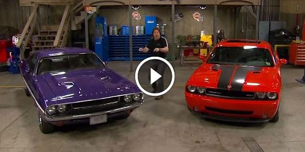 Old Dodge Trucks >> Old Challenger vs New Challenger HEAD-2-HEAD! - Muscle ...