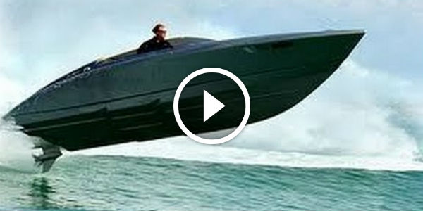 Porsche LUXURY Speed Boat Fearless 28 Conquers The OCEAN DEFINITION For Performance Aesthetics
