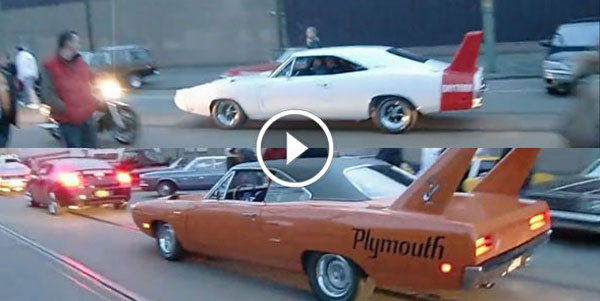 1969 Dodge Charger DAYTONA 1970 Plymouth SUPERBIRD!