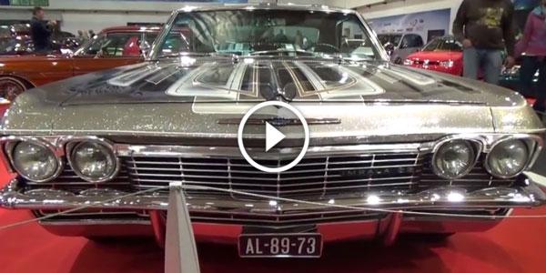 2014 Essen Motor Show 1965 Chevy Impala SS!