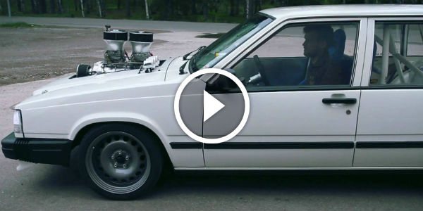 Ultimate Sleeper Blown Volvo Drifting Performance Is This