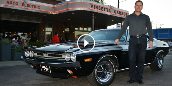 Dodge CEO and his 1971 Challenger at Woodward