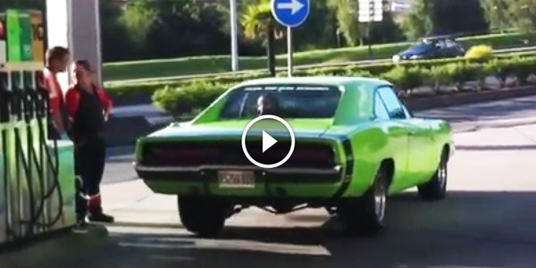 Music Performed By This Green 1969 Dodge Charger Rt