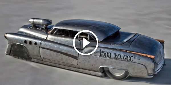 1952 BUICK SUPER RIVIERA From Another PLANET Sets The WORLD RECORD on Bonneville Salt Flats!