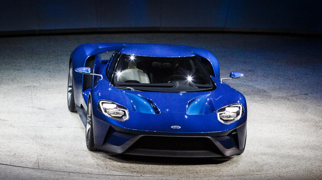 2016 FORD GT Revealed Detroit Motor Show This Is The Model We Have All Been Waiting For 6