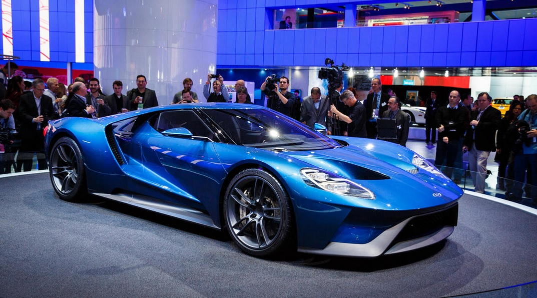2016 FORD GT Revealed @ Detroit Motor Show! This Is The Model We Have All Been Waiting For 8
