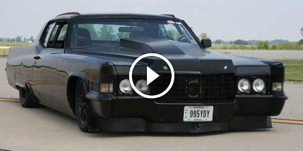BLACKED OUT 780HP 1970 Cadillac Coupe! The ANGRIEST Car I've Ever SEEN!