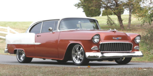 One Of A Kind Chevy Bel Air Callaway Corvette