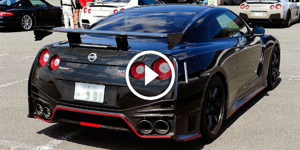 2015 Nissan GTR R35 Nismo's Awesome Exhaust SOUND ...