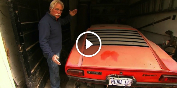 BETTER THAN WINNING The LOTTERY! Lamborghini Miura Found In A Garage After 23 YEARS! Mileage: 17,400! Beautiful Classic Sports Car!