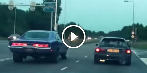 Dodge Charger vs. Tuned Honda Civic! Are American Muscles Always Stronger Than Others! Ch