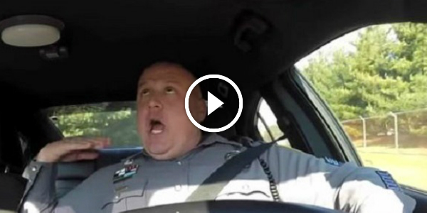 Dover Policeman Sings Taylor Swift's Hit SHAKE IT OFF While DashCam Is ON! Freaking HILARIOUS! +20M VIEWS!!