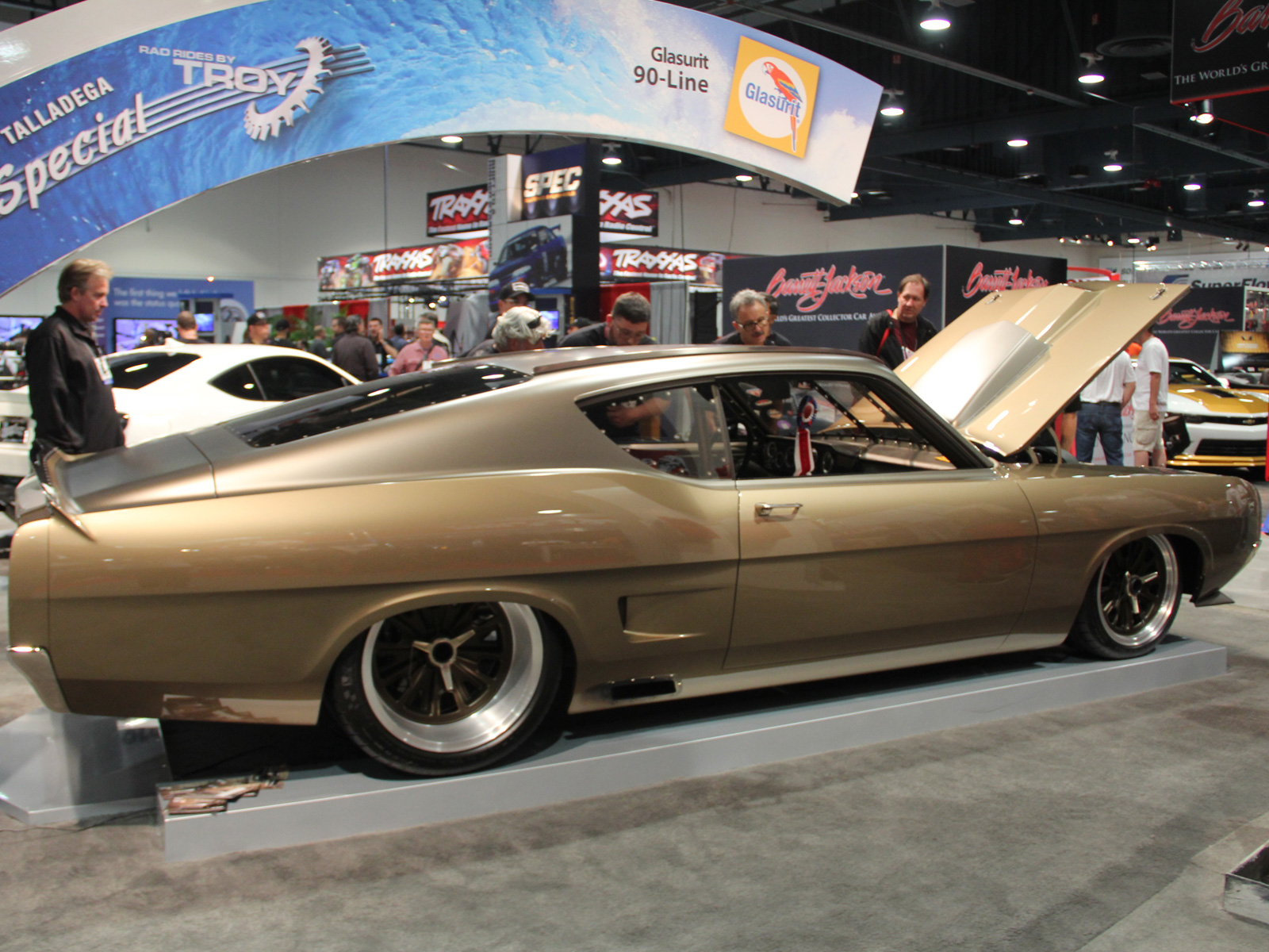 This Awesome 1969 Ford Torino Talladega Will Be Driven By