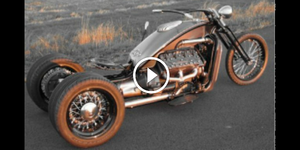 This V8 Ford Flathead TRIKE Sounds Like A MONSTER!