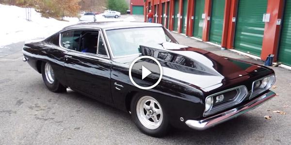 1968 Pro Street Plymouth Barracuda Simply Amazing