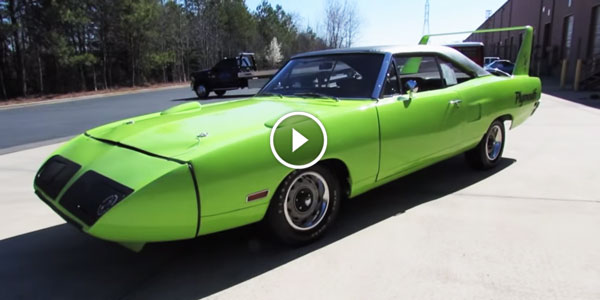 1970 Plymouth Superbird Road Runner Superbird Start Up Exhaust and In Depth Review