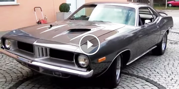 Plymouth Barracuda Enjoy The Sound Allure Of One Of The