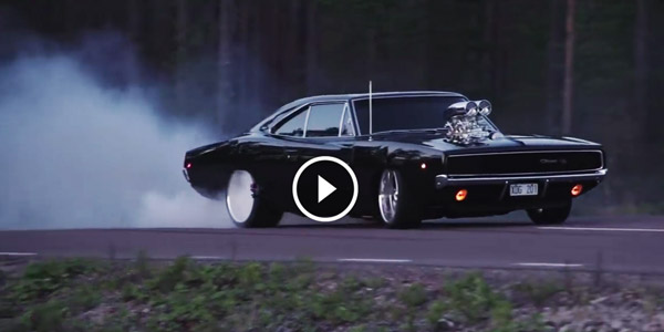 New Dodge Charger >> The Gorgeous Swedish 1968 CHARGER Burnout Action!